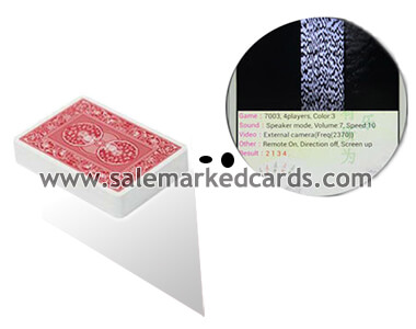 Dal negro barcode marked cards