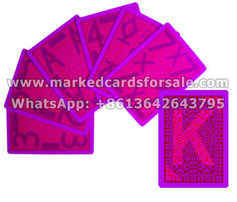 Invisible Ink Cheating Marked Cards