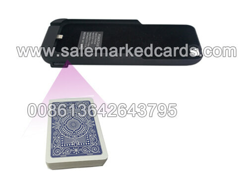 marked cards scanner in Iphone charger